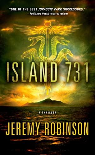 9780312552473: Island 731: A Thriller