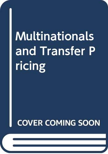 9780312552572: Multinationals and Transfer Pricing
