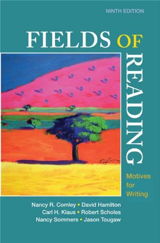 9780312553746: Fields of Reading: Motives for Writing