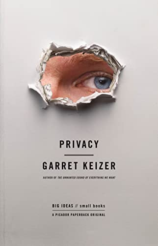Privacy (Hardback) 9780312554842 American essayist and Harper's contributing editor Garret Keizer offers a brilliant, literate look at our strip-searched, over-shared, viral-videoed existence. Body scans at the airport, candid pics on Facebook, a Twitter account for your stray thoughts, and a surveillance camera on every street corner -- today we have an audience for all of the extraordinary and banal events of our lives. The threshold between privacy and exposure becomes more permeable by the minute. But what happens to our private selves when we cannot escape scrutiny, and to our public personas when they pass from our control? In this wide-ranging, penetrating addition to the Big Ideas//Small Books series, and in his own unmistakable voice, Garret Keizer considers the moral dimensions of privacy in relation to issues of social justice, economic inequality, and the increasing commoditization of the global marketplace. Though acutely aware of the digital threat to privacy rights, Keizer refuses to see privacy in purely technological terms or as an essentially legalistic value. Instead, he locates privacy in the human capacity for resistance and in the sustainable society  with liberty and justice for all.