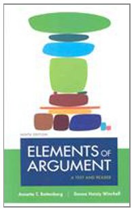 9780312556327: Elements of Argument 9e & Writer's Reference 6e