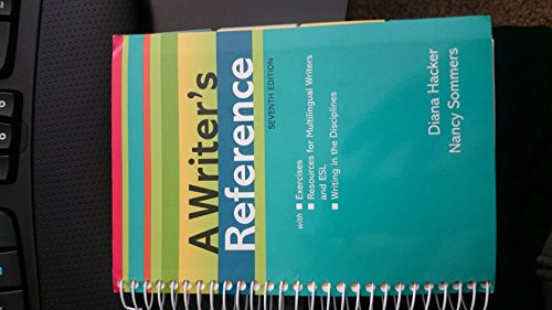 9780312558857: A Writer's Reference (WITH EXERCISES)