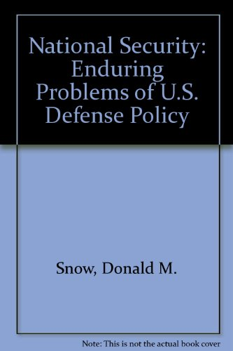 9780312559557: National Security: Enduring Problems of U.S. Defense Policy
