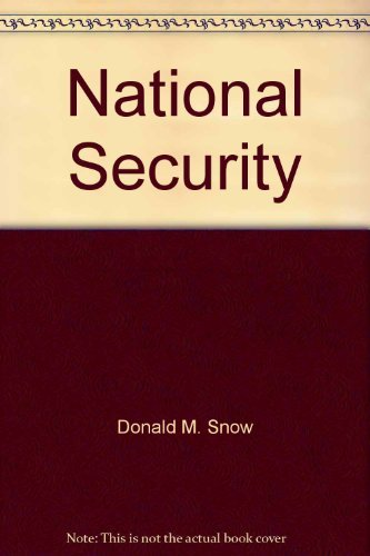 9780312559564: National security: Enduring problems of U.S. defense policy