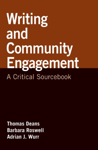 9780312562236: Writing and Community Engagement: A Critical Sourcebook