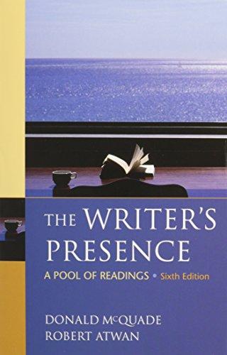 9780312563288: Writer's Presence 6e & Re:Writing Plus