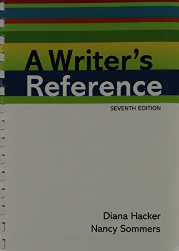 9780312564261: Writer's Reference: Writing in the Disciplines, 7th Edition