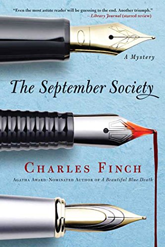 9780312564940: The September Society (Charles Lenox Mysteries)