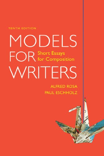 9780312565817: Models for Writers: Short Essays for Composition