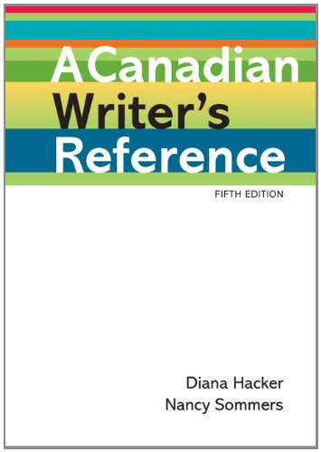 9780312566173: A Canadian Writer's Reference