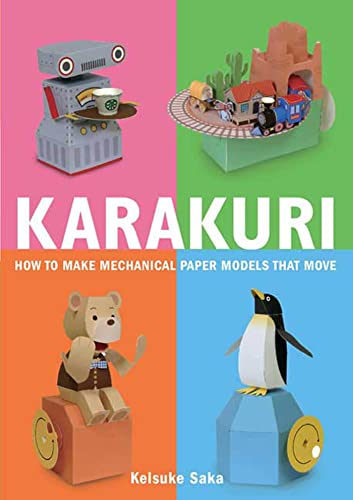 9780312566692: Karakuri: How to Make Mechanical Paper Models That Move