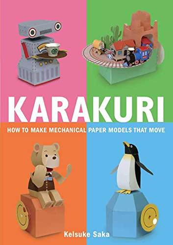 9780312566692: Karakuri: How to Make Mechanical Paper Models That Move