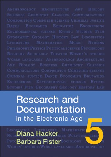 9780312566722: Research and Documentation in the Electronic Age