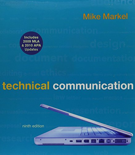9780312570064: Technical Communication 9e with 2009 MLA and 2010 APA Updates & TechCommClass