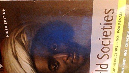 9780312570095: A History of World Societies - Ninth Edition