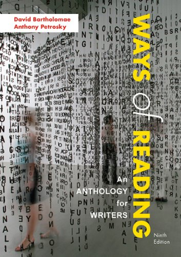 9780312570910: Ways of Reading: An Anthology for Writers