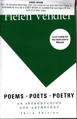 9780312571320: Poems, Poets, Poetry: An Introduction and Anthology