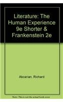 9780312571856: Literature: The Human Experience 9e Shorter & Frankenstein 2e