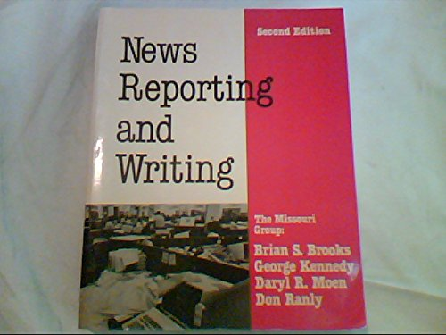 9780312572051: News reporting and writing