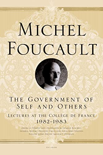 9780312572921: The Government of Self and Others: Lectures at the College De France, 1982-1983