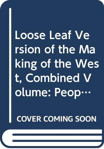 Loose Leaf Version of the Making of: University Lynn Hunt