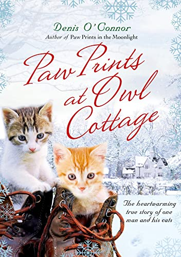 9780312577070: Paw Prints at Owl Cottage: The Heartwarming True Story of One Man and His Cats