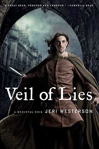 [signed] Veil of Lies: A Medieval Noir (The Crispin Guest Novels)