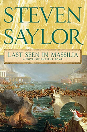 9780312582432: Last Seen in Massilia: A Novel of Ancient Rome (Novels of Ancient Rome)