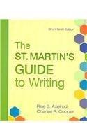 9780312584092: St. Martin's Guide to Writing 9e Short & e-Book