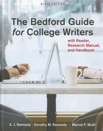 9780312584412: Bedford Guide for College Writers 9e 4-in-1 cloth & Re:Writing Plus
