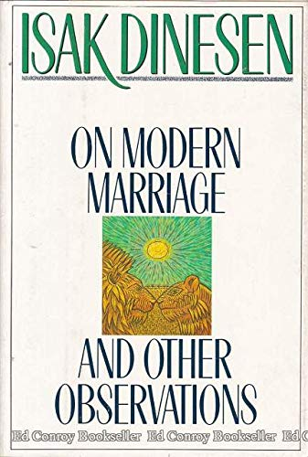 9780312584436: On Modern Marriage: And Other Observations