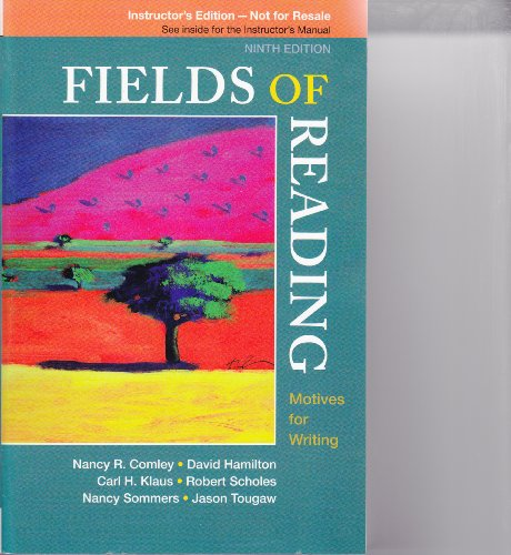 9780312590192: Fields of Reading (9th Edition, Instructor's Edition)
