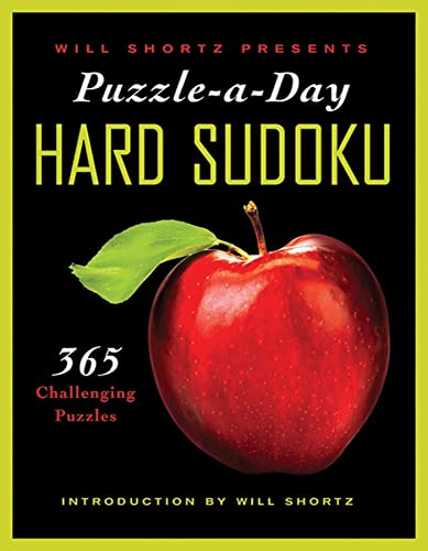9780312590611: Will Shortz Presents Puzzle-a-Day: Hard Sudoku: 365 Challenging Puzzles
