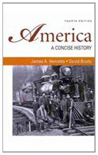 America: A Concise History 4e & Documents: Henretta, James A.,