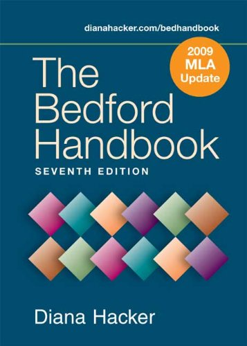 9780312595043: The Bedford Handbook 7e with 2009 MLA Update