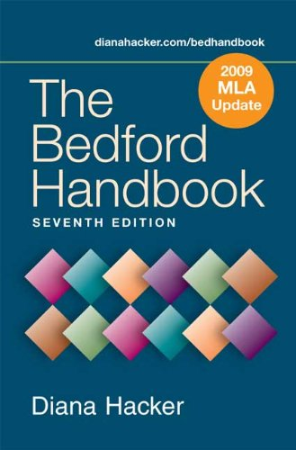 9780312595050: The Bedford Handbook 7e with 2009 MLA Update