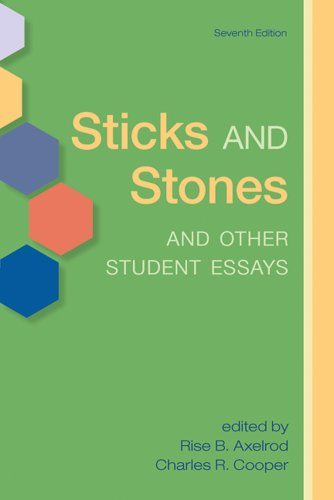 9780312596224: Sticks and Stones and Other Student Essays
