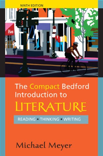 9780312600990: The Bedford Introduction to Literature (Reading Thinking Writing)