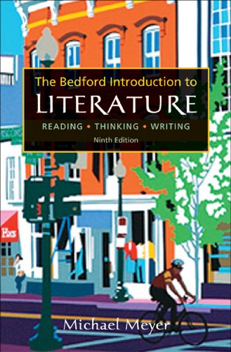 9780312601010: The Bedford Introduction to Literature