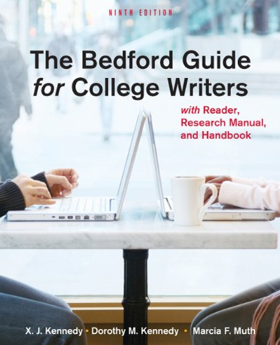 9780312601539: The Bedford Guide for College Writers with Reader, Research Manual, and Handbook