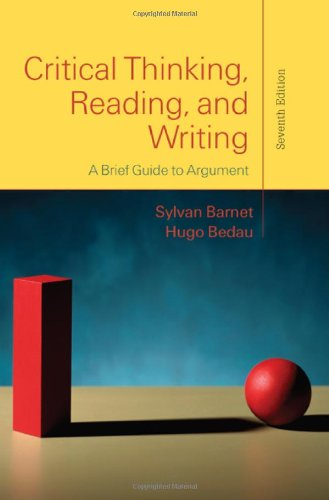 9780312601607: Critical Thinking, Reading, and Writing: A Brief Guide to Argument