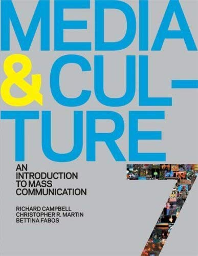 9780312601997: Media & Culture: An Introduction to Mass Communication