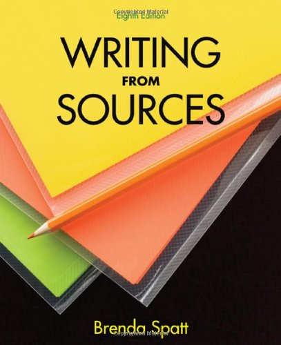 9780312602901: Writing from Sources