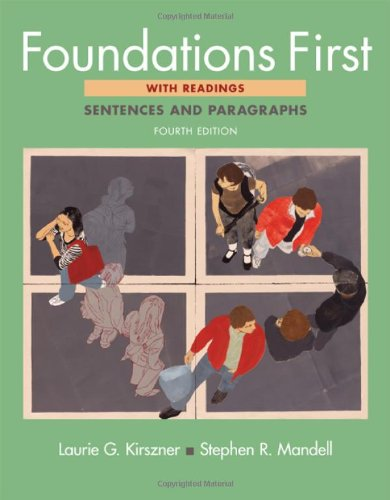 9780312603168: Foundations First with Readings: Sentences and Paragraphs