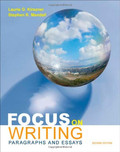 9780312603410: Focus on Writing: Paragraphs and Essays