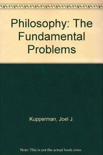 9780312605735: Philosophy: The Fundamental Problems