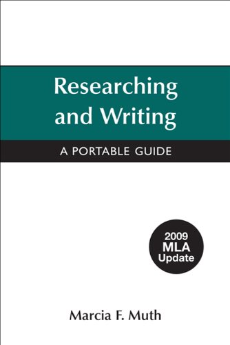 9780312607562: Researching and Writing with 2009 MLA Update