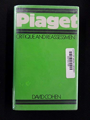 9780312609214: Piaget, Critique and Reassessment