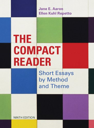9780312609603: The Compact Reader: Short Essays by Method and Theme