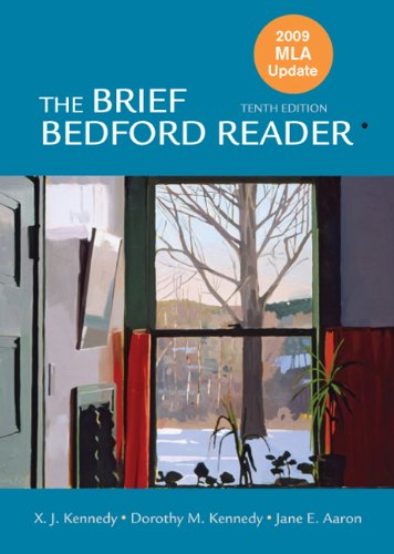 9780312609900: The Brief Bedford Reader with 2009 MLA Update